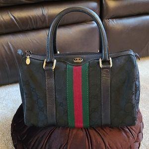 Gucci Vintage Boston Bag
